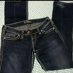 Silver woman's jeans